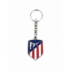 Llavero escudo plateado Atletico de Madrid