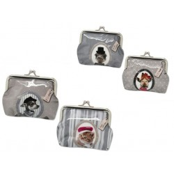 Monedero mascotas PVC 322936