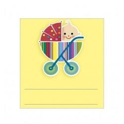 Paquete de 96 etiquetas adhesivas 36801