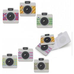 Libreta forma camara de fotos vintage 324690
