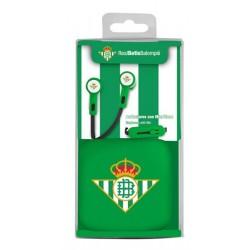 Auricular boton micro Real Betis B.