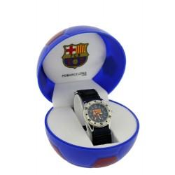 Reloj Infantil Velcro Azul FCBarcelona