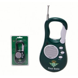 Radio Portatil Mosquetón Real Betis