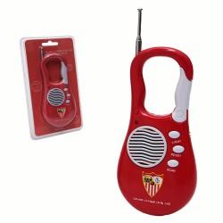 Radio Portatil Mosquetón Sevilla FC
