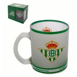 Taza Cristal Escudo Real Betis