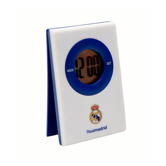 Reloj mesa clip digital real madrid sevaimport for Reloj digital de mesa
