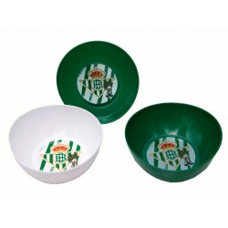 Set 3 Cuencos Microondas Real Betis