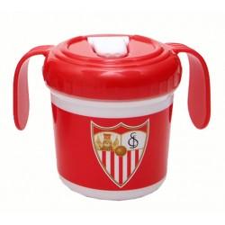 Taza Entrenamiento PP con asas Sevilla FC