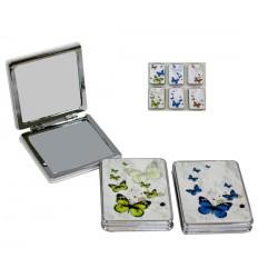 Espejo bolso mariposas