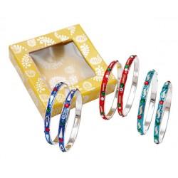 Set 2 pulsera en caja