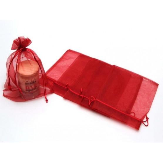 Bolsa Organza 20 x 26cm granate