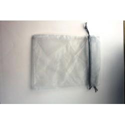 Bolsa Organza 20 x 26cm plata