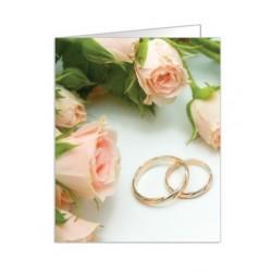 Paquete de 90 tarjetas troqueladas para boda Mod. 38333