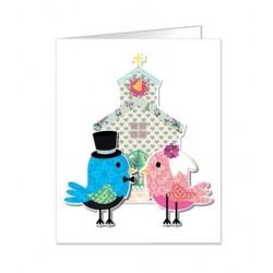 Paquete de 90 tarjetas troqueladas para boda Mod. 38339