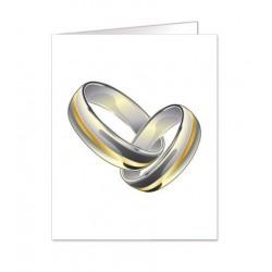 Paquete de 90 tarjetas troqueladas para boda Mod. 38335