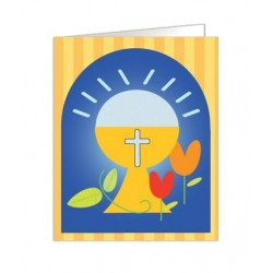 Paquete de 90 tarjetas troqueladas de comunión Mod. 38321
