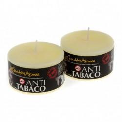 Vela perfumada jazmin-antita. 250gr. en expo. de 6uni.Mod.037185
