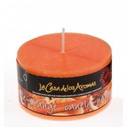Vela perfumada canela-naranja 250gr. en exp. de 6uni.Mod. 037192
