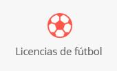 Licencias de fútbol